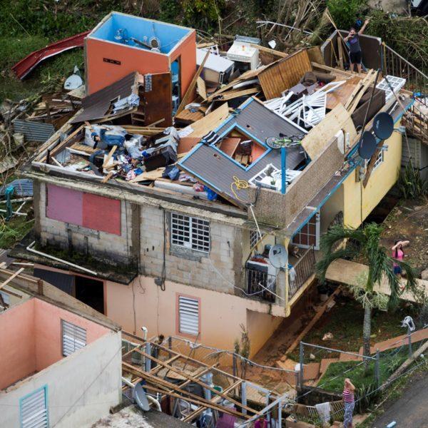Hurricane Maria Home Damage