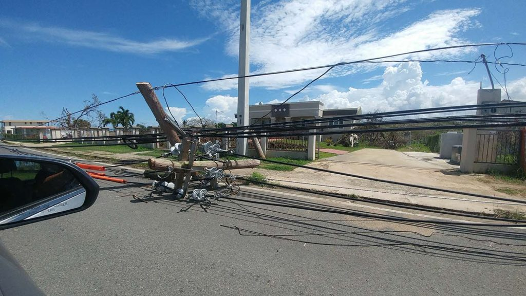 Hurricane Maria Electrical Damage