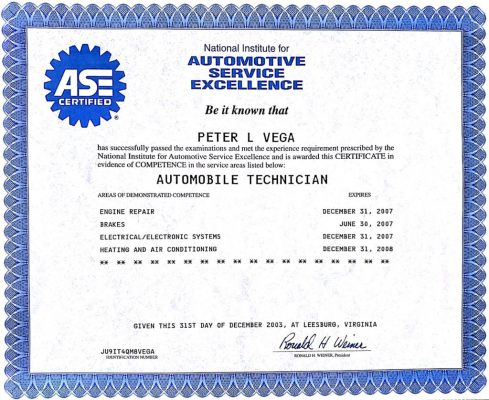 Dent Free Image Automotive Certification