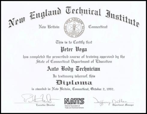Autobody Technician Diploma